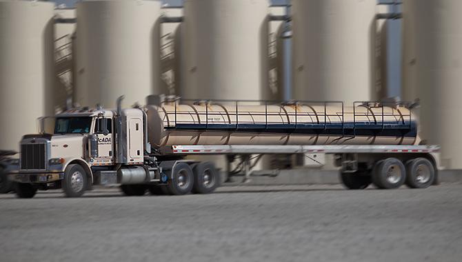 Vacuum Trucks Mcada Drilling Fluids